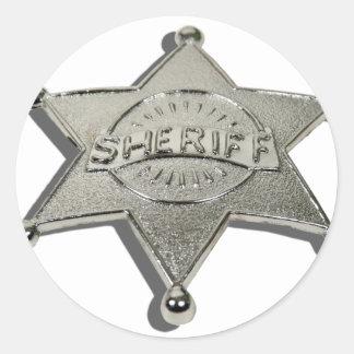 SheriffBadgeLetters110510 ラウンドシール