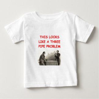 SHERLOCKのholmesのギフトのTシャツ ベビーTシャツ