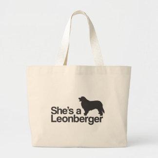 ShesaLeonberger.ai ラージトートバッグ