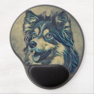 Shetland Sheepdog Painting Gel Mousepad ジェルマウスパッド