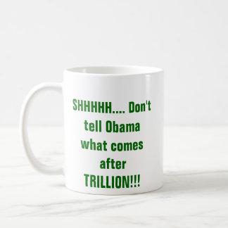 SHHH…オバマ コーヒーマグカップ