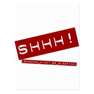 SHHH ポストカード