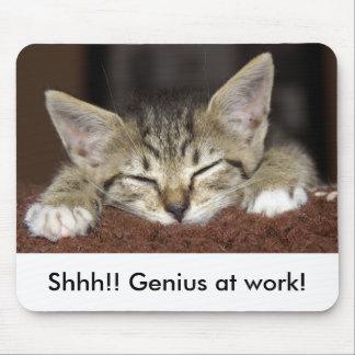 Shhh!! 仕事の天才! マウスパッド