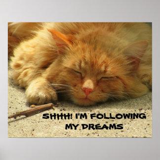 Shhh、私は私の夢を次 ポスター