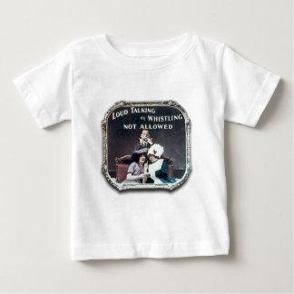 Shhhhh! -乳児 ベビーTシャツ