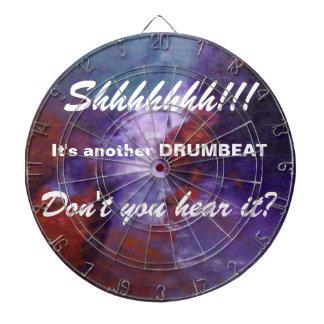 SHHHHHHH!! それはもう一つのドラムビートです ダーツボード