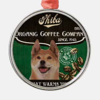 Shibaのブランド- Organic Coffee Company メタルオーナメント