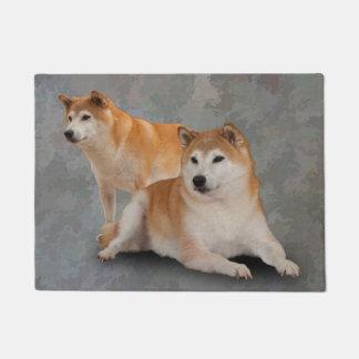 SHIBA犬 ドアマット
