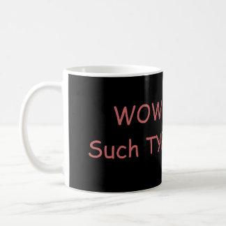 SHibeのタイポグラフィのマグ コーヒーマグカップ