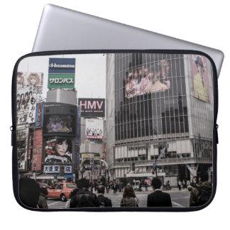 Shibuyaの交差のラップトップの箱 ラップトップスリーブ