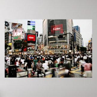 Shibuyaの交差 ポスター