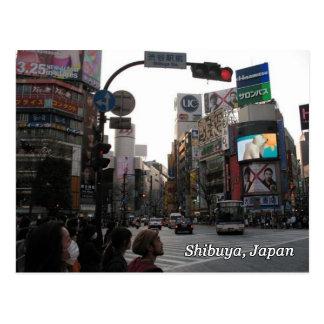 Shibuyaの交差 ポストカード