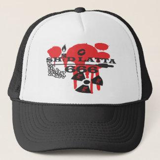 Shid Latta 666のロゴの急な回復 キャップ