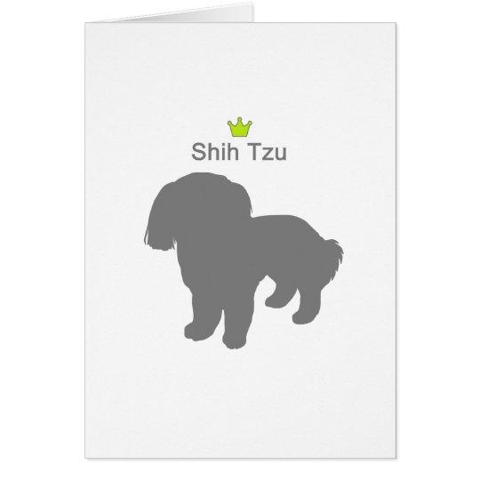 Shih Tzu g5 カード