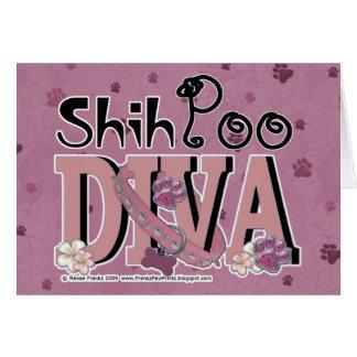 ShihPooの花型女性歌手 カード