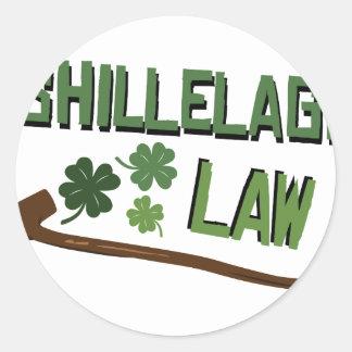 Shillelaghの法律 ラウンドシール