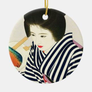 Shimura Tatsumiモダンな美しいの5つの姿 セラミックオーナメント