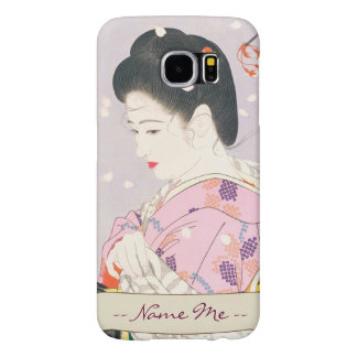 Shimura Tatsumiモダンな美しいの5つの姿 Samsung Galaxy S6 ケース