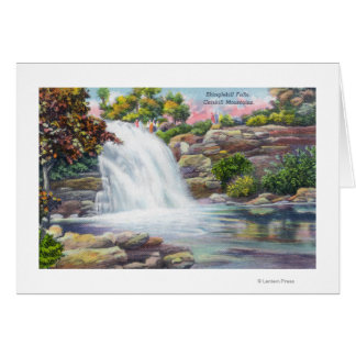 Shinglekillの滝の眺め カード