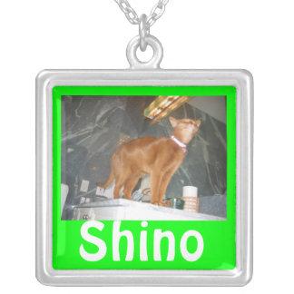 Shino シルバープレートネックレス
