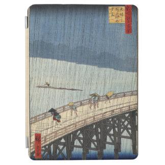 ShinŌhashi橋およびAtake上の突然のシャワー iPad Air カバー