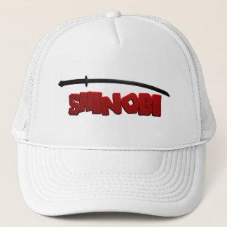 Shinobiの黒 キャップ