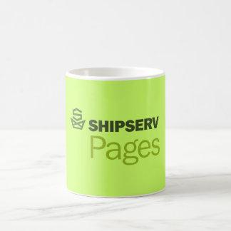 ShipServはマグのページを捲ります コーヒーマグカップ