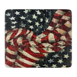 Shirleyテイラー著アメリカの旗カムフラージュ カッティングボード