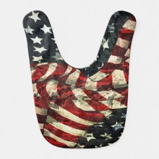 Shirleyテイラー著アメリカの旗カムフラージュ ベビービブ
