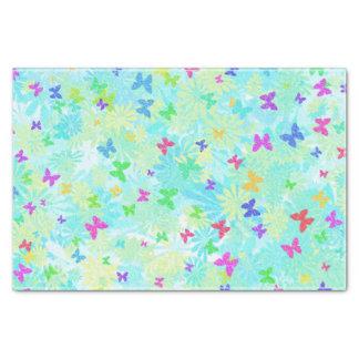 Shirleyテイラー著カラフルな蝶そしてデイジー 薄葉紙