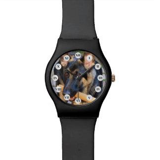 Shirleyテイラー著ジャーマン・シェパード 腕時計