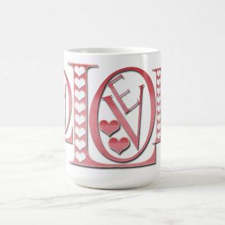 Shirleyテイラー著ハートが付いているラブレター コーヒーマグカップ
