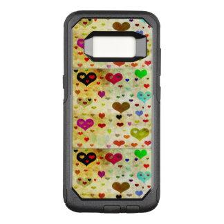 Shirleyテイラー著ハートGrunged オッターボックスコミューターSamsung Galaxy S8 ケース