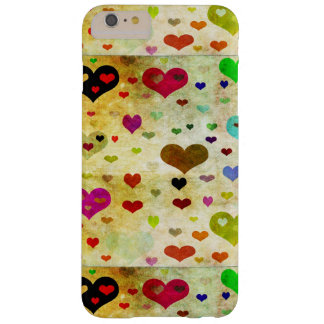 Shirleyテイラー著ハートGrunged Barely There iPhone 6 Plus ケース