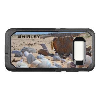 Shirleyテイラー著ビーチの貝殻 オッターボックスコミューターSamsung Galaxy S8 ケース