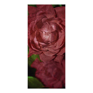 Shirleyテイラー著割れた赤いバラ ラックカード