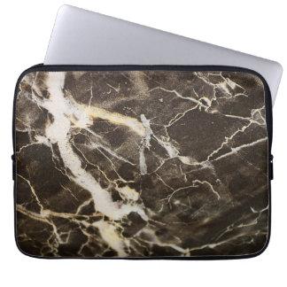 Shirleyテイラー著大理石模様をつけ抽象芸術の表現主義 ラップトップスリーブ