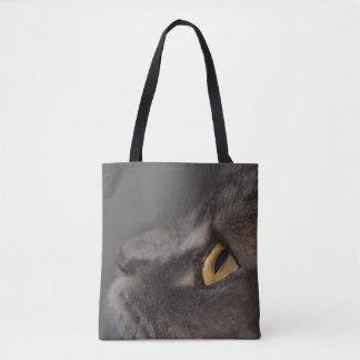 Shirleyテイラー著猫の目マクロ トートバッグ