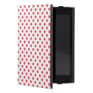 Shirleyテイラー著珊瑚のピンクの水玉模様 iPad Mini ケース
