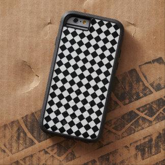 Shirleyテイラー著白黒ダイヤモンドパターン iPhone 6 タフ・エクストリームケース