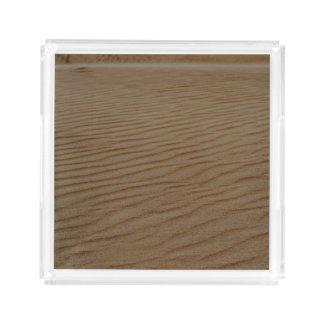 Shirleyテイラー著砂の砂丘抽象芸術 アクリルトレー