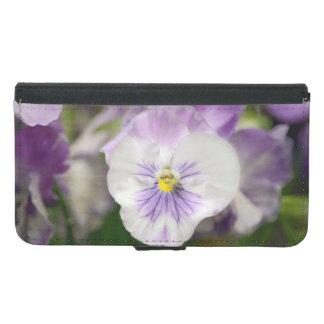 Shirleyテイラー著紫色および白いビオラ Galaxy S5 ウォレットケース