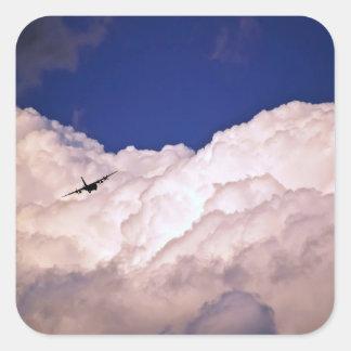 Shirleyテイラー著軍の輸送の飛行機 スクエアシール