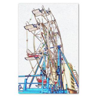 Shirleyテイラー著Ferrisの車輪チョークの輪郭 薄葉紙