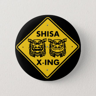 Shisa X-ing 缶バッジ