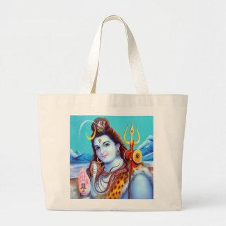 Shivaのトートバック-バージョン2 ラージトートバッグ