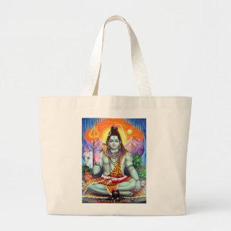 Shivaのトートバック-版4 ラージトートバッグ
