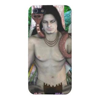 shivaのヒンズー教の神4または iPhone 5 ケース