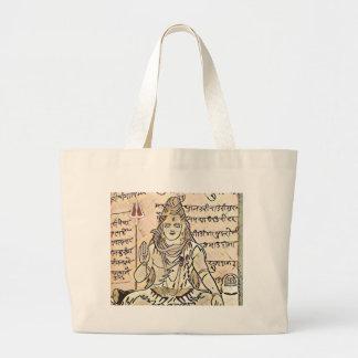 Shivaのモデル ラージトートバッグ