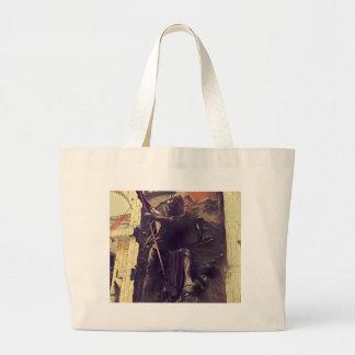 Shivaの激怒 ラージトートバッグ